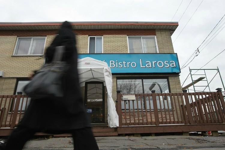 Le Café bistro Larosa est le troisième établissement... (Photo: Patrick Sanfaçon, La Presse)