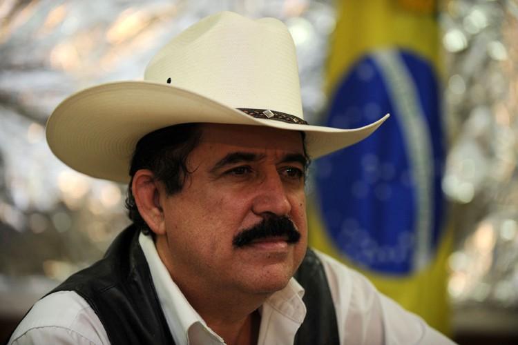 Manuel Zelaya a été chassé du pouvoir le... (Photo: AFP)