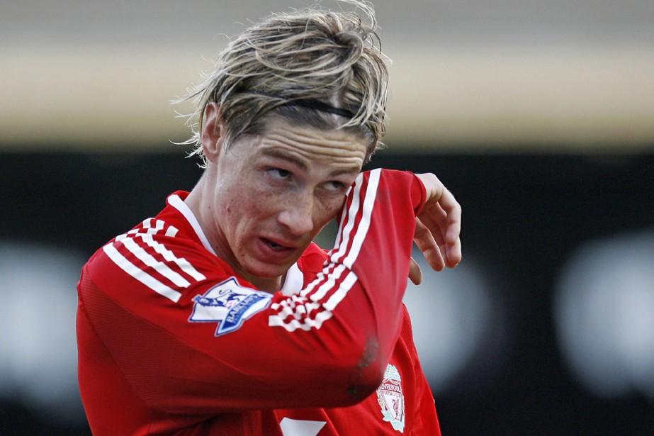 Fernando Torres... (Photo: AFP)