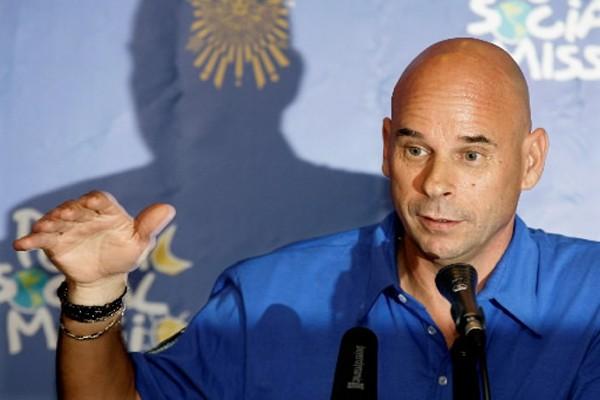 Le fondateur du Cirque du Soleil, Guy Laliberté.... (Photo: Mikhail Metzel, AP)
