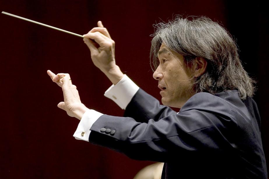 Jeudi, 19 h 30, à Saint-Patrice, Nagano dirige... (Photo: André Pichette, archives La Presse)
