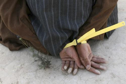L'état de santé des prisonniers n'aurait pas été... (Photo: Archives AFP)