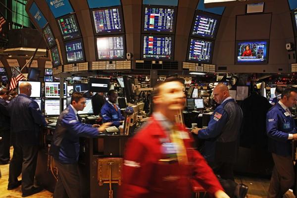 La Bourse de New York a terminé sans direction claire... (Photo: Reuters)