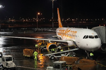 Un avion de la compagnie Easyjet... (Photo: AFP)