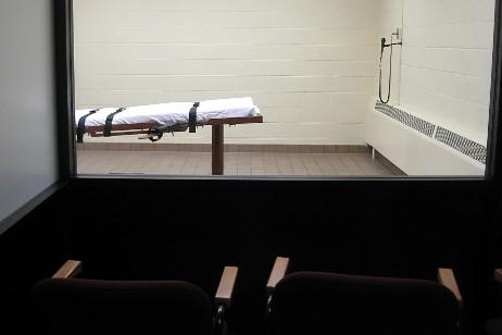 C'est dans cette salle que les condamnés à... (Photo AFP)