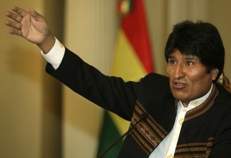 Le président bolivien Evo Morales.... (Photo Reuters)