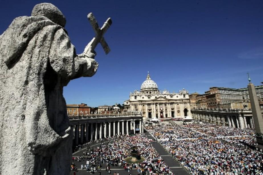 La banque du Vatican gère un patrimoine estimé... (Photo: AP)