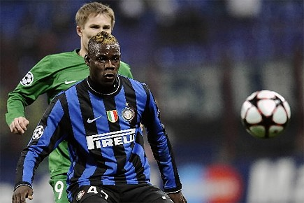 Mario Balotelli... (Photo: AFP)