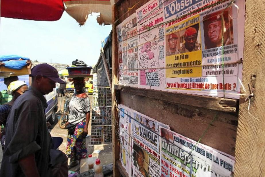 L'incertitude entourant l'état de santé de Moussa Dadis... (Photo: Reuters)