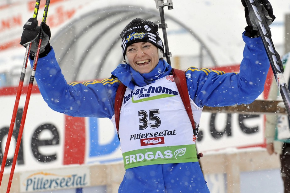Anna-Carin Olofsson-Zidek... (Photo: AFP)