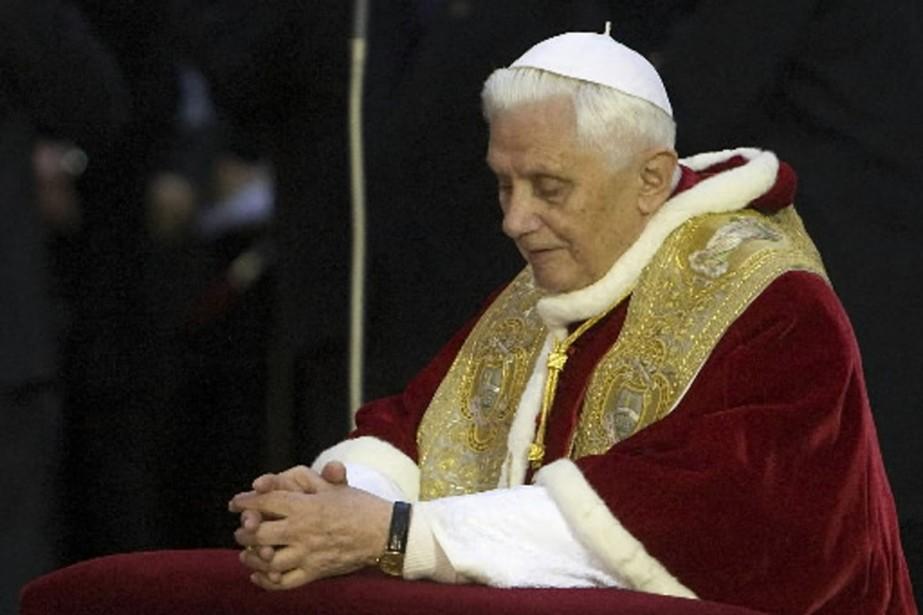 Benoît XVI a qualifié de «crimes abominables» les... (Photo: Reuters)
