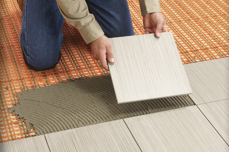 Plancher radiant rapide carole thibaudeau entretien de la maison for Plancher chauffant renovation