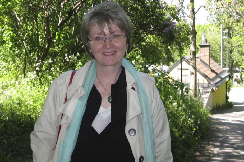 Eva Gabrielsson, ex-compagne de Stieg Larsson.... (Photo: La Presse)