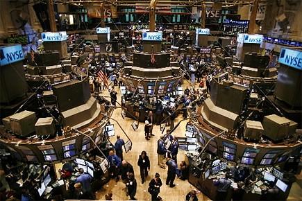 Bourse de New York... (Photo: AP)