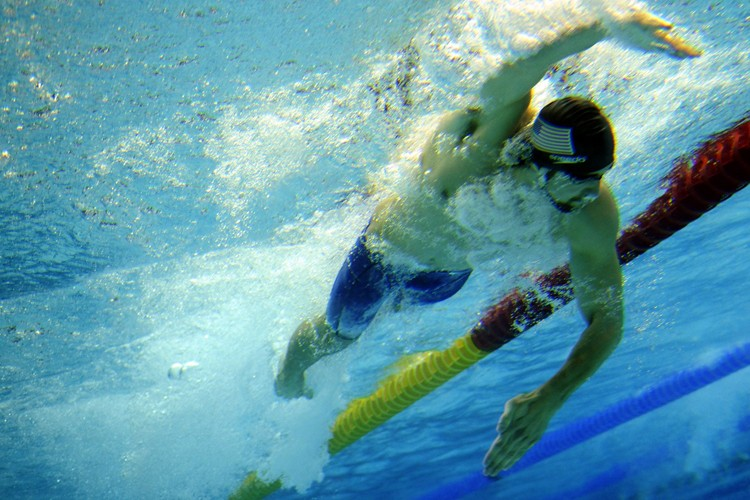 Michael Phelps... (Photo: AFP)