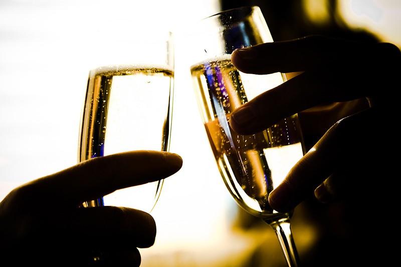 Contrairement aux autres vins, le champagne ne... (Photo: Photothèque La Presse)