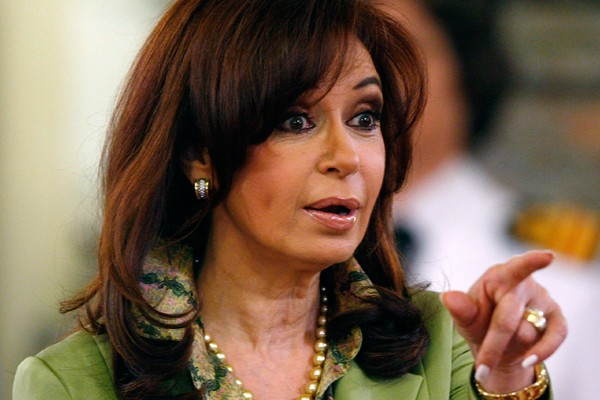 Cristina Kirchner.... (Photo Reuters)