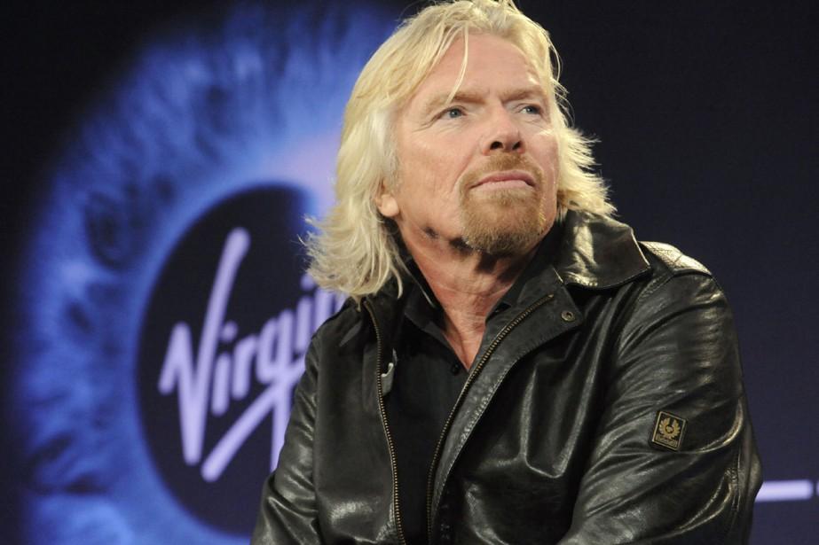 L'excentrique millionnaire britannique Richard Branson... (Photo: AP)