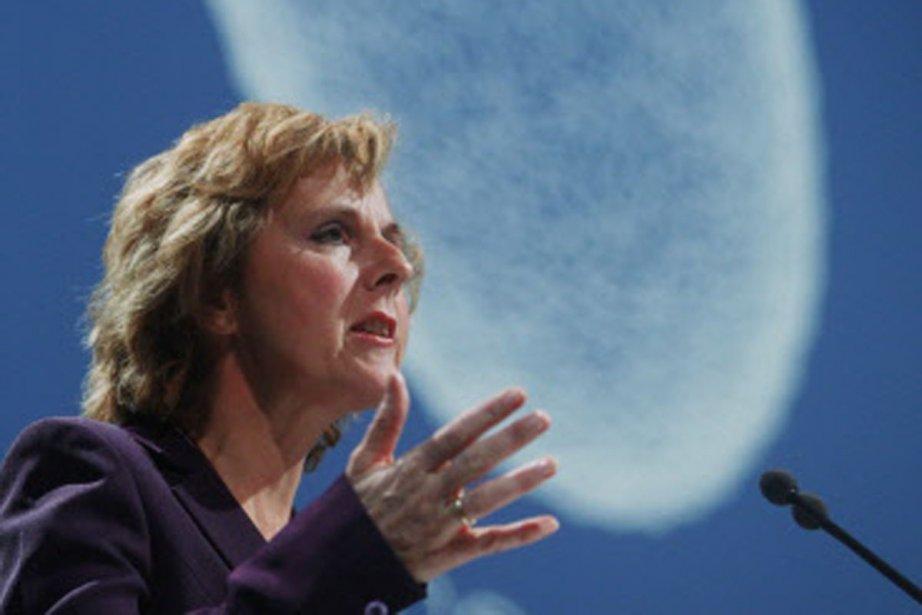La Commissaire européenne sur le climat Connie Hedegaard.Les... (Photo: AFP)
