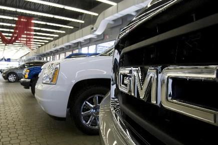 Plusieurs concessionnaires automobiles de General Motors du... (Photo: Reuters)