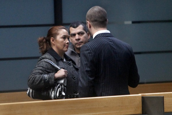 Les parents de Fredy Villanueva, Lilian et Gilberto,... (Photo Robert Skinner, La Presse)
