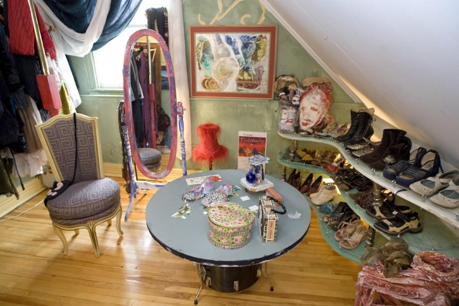 chez soi comme au th tre carole thibaudeau design. Black Bedroom Furniture Sets. Home Design Ideas
