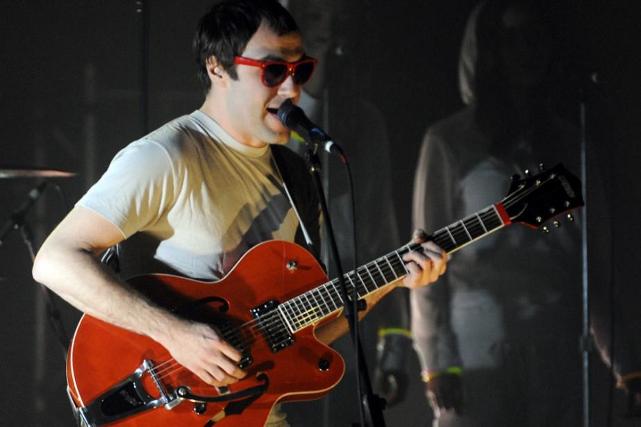 Le chanteur et guitariste du groupe Malajube, Julien... (Photo: Bernard Brault, La Presse)