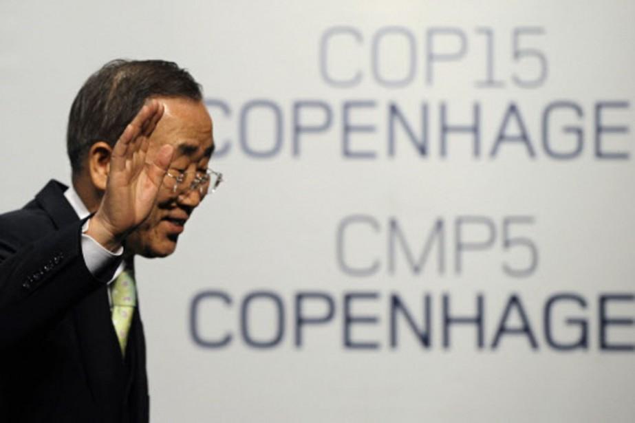 Le chef de l'ONU Ban Ki-moon reconnaît que... (Photo: AFP)