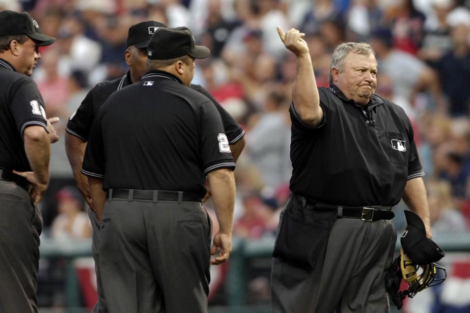 Le baseball espérait augmenter l'utilisation des reprises vidéo... (Photo: AP)