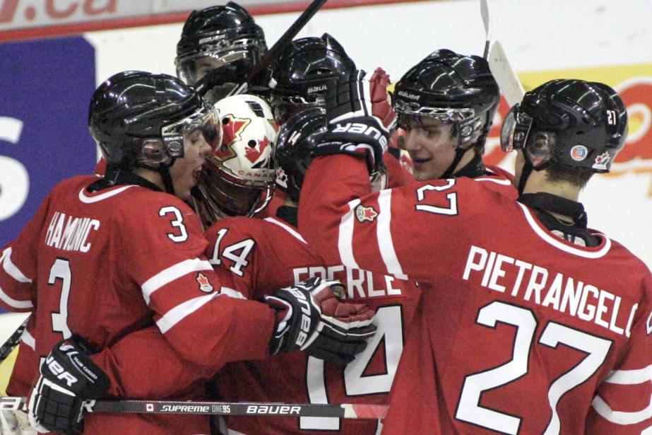Le Canada a vaincu la Suisse 6-1 dans... (Photo: PC)