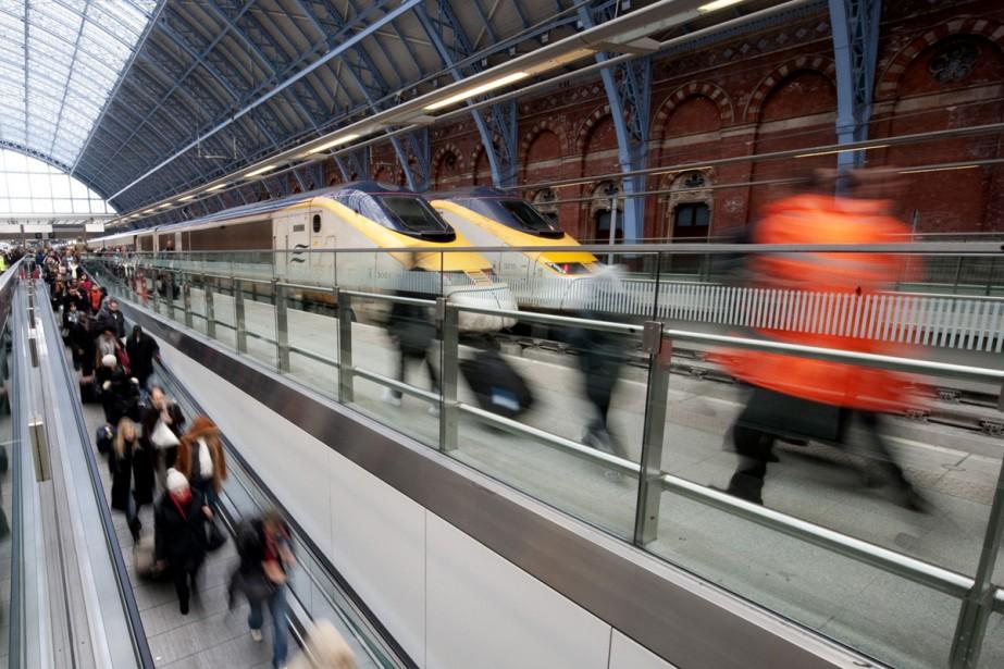 Eurotunnel renvoie la balle sur Eurostar. L'opérateur du tunnel... (Photo: AFP)
