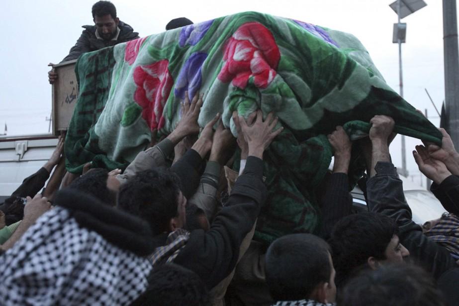 L'explosion d'une bombe a coûté la vie à... (Photo: AFP)