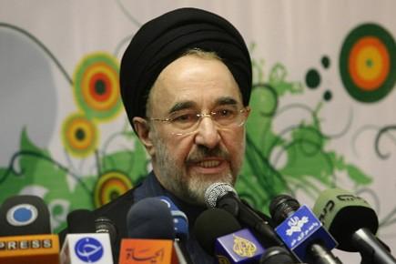 Plusieurs milliers de partisans de M. Khatami, une... (Photo: AFP)