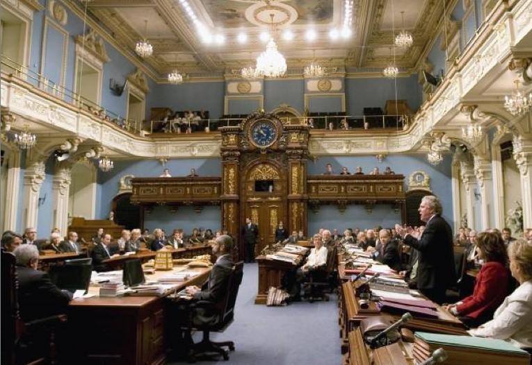Le père de la Loi sur le financement des partis... (Photo Presse canadienne)