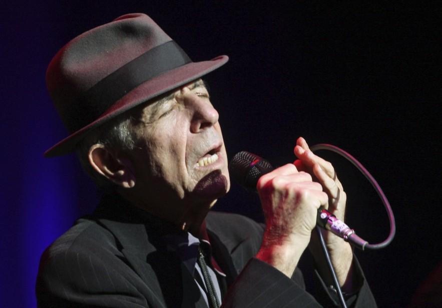 Leonard Cohen... (Le Quotidien, Archives)