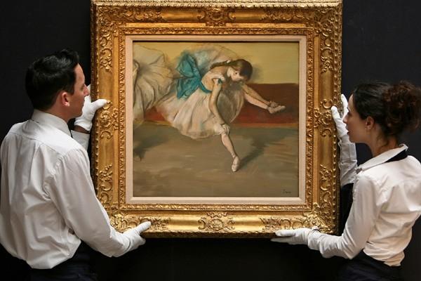 Le titre du tableau dérobé n'a pas été... (Photo d'archives AFP)