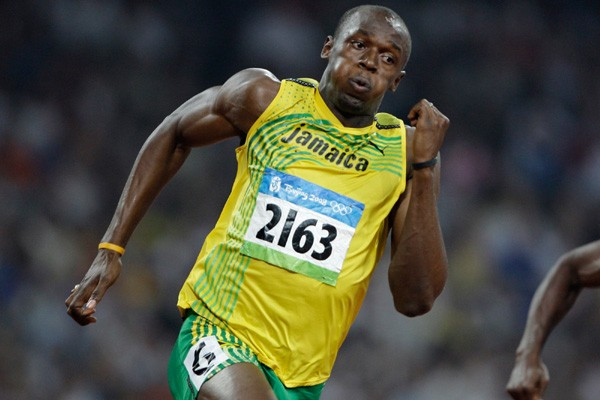 Usain Bolt.... (Photo AP)