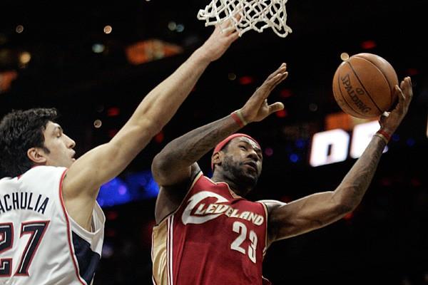 Lebron James, des Cavaliers de Cleveland.... (Photo Reuters)