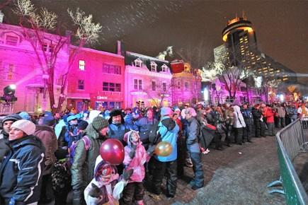 A Québec, les principales festivités se sont déroulées... (Photo: Steve Deschenes, Le Soleil)
