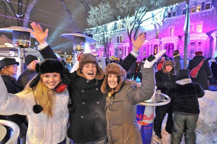 Plus de huit Québécois sur 10 voient 2010... (Photo: Le Soleil)