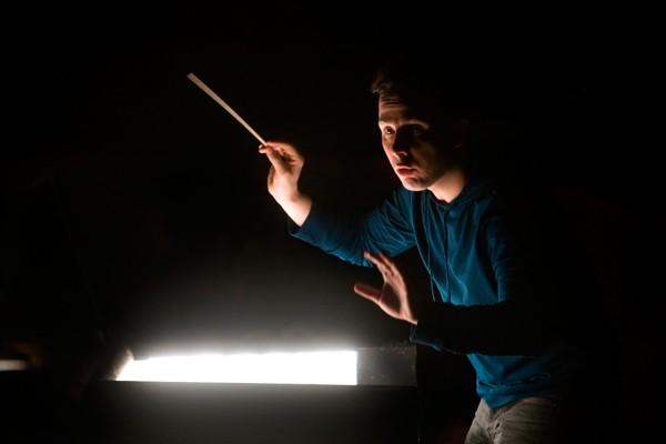 Yannick Nézet-Séguin dirige Carmen.... (Photo Martin Chamberland, La Presse)