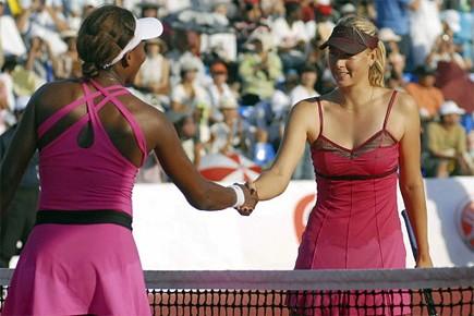 Venus Williams et Maria Sharapova.... (Photo: AP)