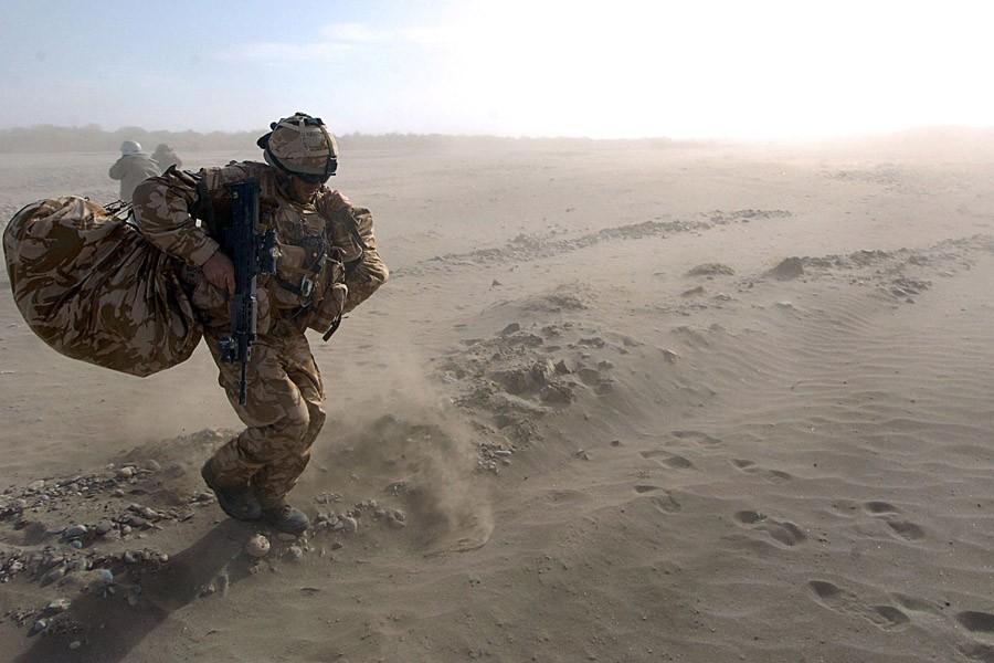 Cet attentat-suicide, le plus meurtrier pour les troupes... (Photo: Archives AFP)