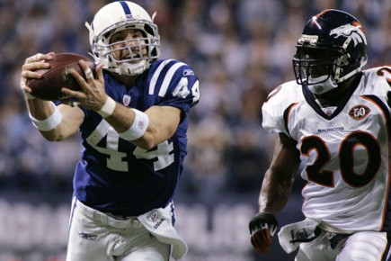 Avec sa septième passe captée, Dallas Clark est... (Photo: Reuters, archives)