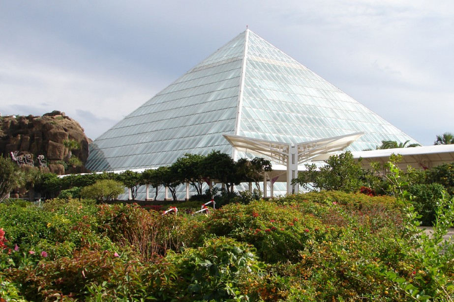 Moody Garden, à Galveston... (Photo: Maxime Bergeron, La Presse)