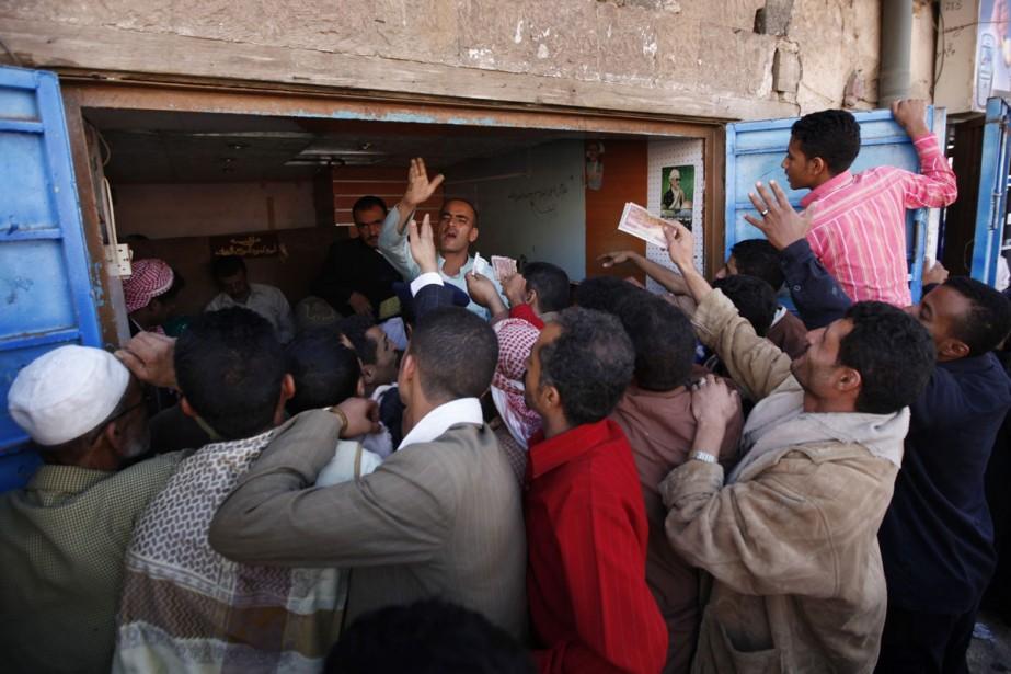 Le marché de Sanaa, la capitale du Yémen.... (Photo: AP)