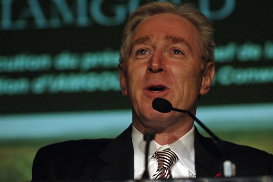 Le président et chef de la direction d'Iamgold,... (Photo: Rémi Lemée, Archives La Presse)
