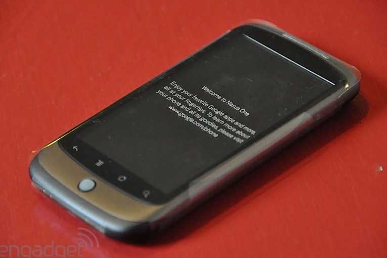 Le Nexus One... (Photo: Engadget)
