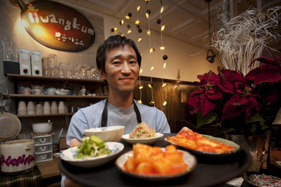 Nouveau décor pour Hwang Kum...mais la cuisine est... (Photo: André Pichette, La Presse)