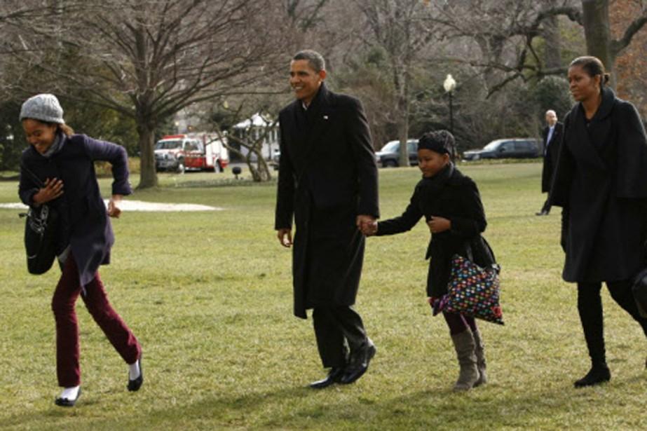 À peine rentré de vacances, le président Barack... (Photo: Reuters)